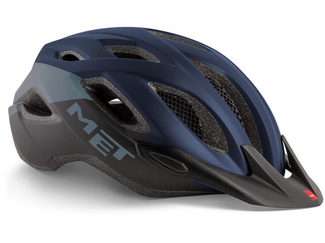 MET Crossover Helm blue/black